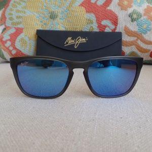 Maui Jim LONGITUDE Translucent Grey / Blue Hawaii